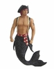 Merman Ornament Sebastian the Pirate
