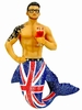 Merman Ornament Union Jack