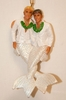 Merman Ornament White Suited Grooms