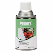 Misty Metered Dry Deodorizer Refills 7oz  SUMMER BREEZE  FREE SHIPPING