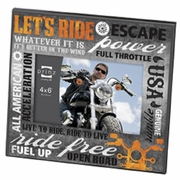 More than Words  Motorcycle Theme Picture Frame 6 x 4