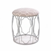 Moroccan Inspired Metal Stool