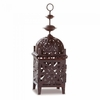 "Moroccan Style Candle Lantern  11-1/2""h"