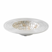 "Mother of Pearl Mosaic Decorative Bowl  8""dia"