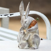 Mother Rabbit's  Love   Garden Sculpture  FREE SHIPPING