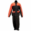 Motorcycle Rain Suit Polyester with PVC Coating