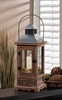 "Mount Vernon Wooden Candle Lantern  Small  18""h"