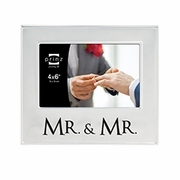 Mr & Mr Picture Frame  6 x 4