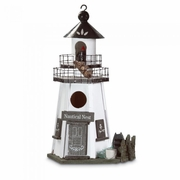 Nautical Nest Lighthouse Birdhouse