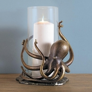 Octopus Hurricane Candleholder   FREE SHIPPING