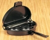Omelet Pan Non Stick  with Egg Poacher Insert