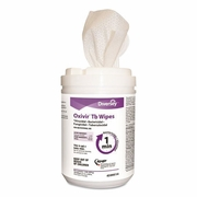 Oxivir TB Disinfectant Wipes, 6 x 7, White, 160/Canister, 12 Canisters/Carton  FREE SHIPPING