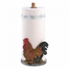 Paper Towel Holder Country Rooster