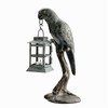 Parrot on Perch Lantern   FREE SHIPPING
