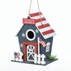 Patriotic Birdhouse Small