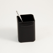 Pencil  Box Black Leather