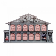 Pewter School House 13-Photo Frame