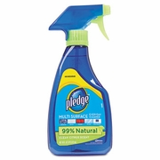 Pledge® Multi-Surface Cleaner, Clean Citrus Scent, 16oz Trigger Bottle, 6/Carton