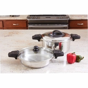 Precise Heat ™ Low Pressure Cooker Set