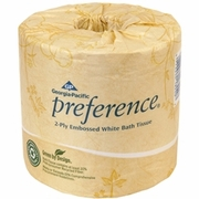 Preference 2-Ply Embossed Bathroom Tissue 40 roll Dispenser Case FREE SHIPPING