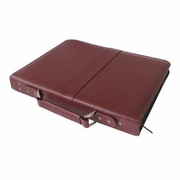 "Prestige™ Premier™ Burgundy Series Leather Presentation Case 14"" x 17"""