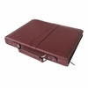 "Prestige™ Premier™ Burgundy Series Leather Presentation Case 8.5"" x 11"""