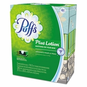 Puffs® Plus Lotion Facial Tissue  24 boxes/case