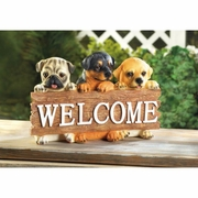 Puppy Welcome Plaque