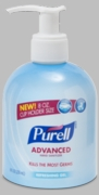Purell Advanced Hand Sanitizer Refreshing Gel 8oz bottle  12/case