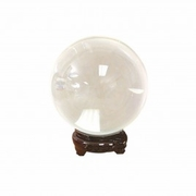 "Quartz Crystal Ball CLEAR  6cm Size (2.5""dia)"
