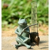Rain Gauge  Frog Fisherman