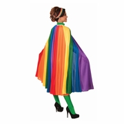 Rainbow Cape (vertical colors)