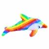 Rainbow Dolphin Plush