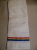 Rainbow Ribbon Design  Hand Towel