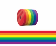 Rainbow Gay Pride Decorating Ribbon  3 x 50'