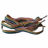 Rainbow Gay Pride Shoelaces (horizontal colors)
