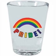 Rainbow PRIDE! Shot Glass  3pc.