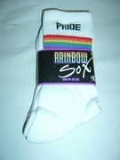 Rainbow PRIDE Socks  9-11