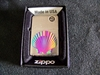 Rainbow Shell Design Zippo Lighter