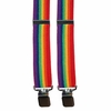 "Rainbow Suspenders 1-1/2""w. x 44"" long"