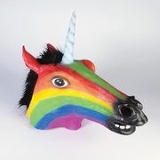 Rainbow Unicorn Head Mask