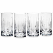 Reed & Barton Crystal Soho Hiball Glasses  (set of 4)  FREE SHIPPING
