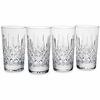 Reed & Barton Hamilton Crystal Hiball Glasses 4/set  FREE SHIPPING