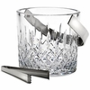 Reed & Barton Hamilton Crystal Ice Bucket with Tongs FREE SHIPPING