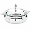 Reed & Barton Silverplated Round Covered Casserole 2QT FREE SHIPPING
