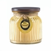 Ribbed Jar Candle Butter Cream