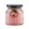 Ribbed Jar Candle Royal Hibiscus