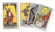 "Rider-Waite tarot deck by Pamela Colman Smith  3"" x 5"""