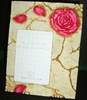 """Rose Picture Frame 3-1/2"""" x 5"""