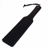 "Rouge Long Paddle Black Leather  16.5"" long"